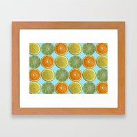 Lemons, Limes, Oranges, … Framed Art Print