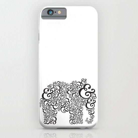 Ampersand Elephant iPhone & iPod Case
