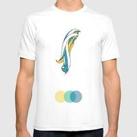Highlights Mens Fitted Tee White SMALL