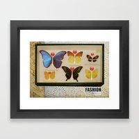 Fashion Fat Girls/1 Framed Art Print