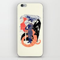 The Knight, Death, & the Devil iPhone & iPod Skin