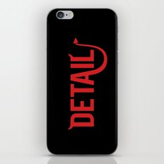 The Devil Is In The Detail iPhone & iPod Skin