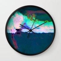 18-23-46 (Skyline Cloud … Wall Clock