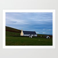 The Church Of The Holy … Art Print