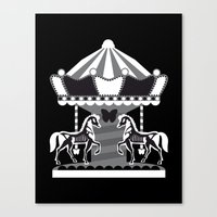 Merry Go 'Round, Part II Canvas Print