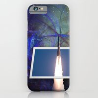 iPhone Cases featuring Take Me To The Stars by Roger Wedegis