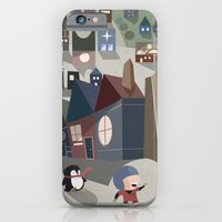 A Boy and his Penguin iPhone 6 Slim Case