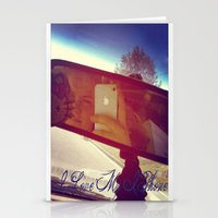 I Love My Iphone Stationery Cards