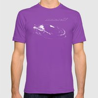 McLaren P1 High Contrast Mens Fitted Tee Ultraviolet SMALL