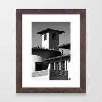 Spanish Flare Framed Art Print