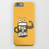 iPhone & iPod Case featuring Take It Strong by Josh Franke