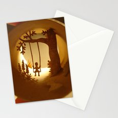 Swing (Balançoire) Stationery Cards