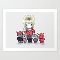Dance Magic Dance Plush Art Print