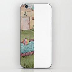 Dino Swim Party iPhone & iPod Skin