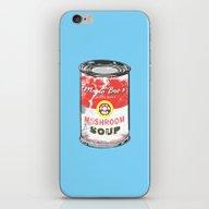 iPhone & iPod Skin featuring Mario Bro's Mushroom Sou… by Steven Toang