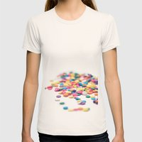 Sprinkles Womens Fitted Tee Natural SMALL