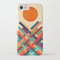 sun iPhone & iPod Cases featuring Sun Shrine by Picomodi