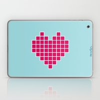 Pixelated Heart Laptop & iPad Skin