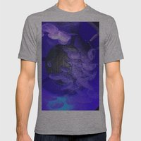 Acrylic Jelly Fish Mens Fitted Tee Athletic Grey SMALL