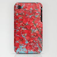 Highlands Red Maple iPhone (3g, 3gs) Slim Case