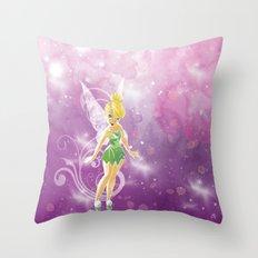 TinkleBell Throw Pillow