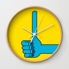 Thumbs Up Wall Clock