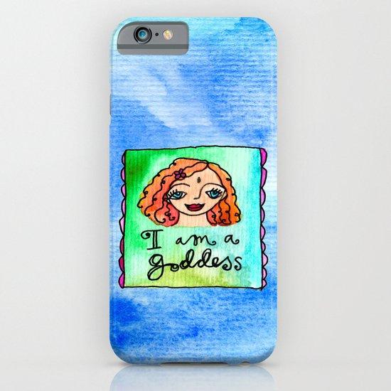I Am A Goddess iPhone & iPod Case