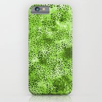 Wild (Series) Lime iPhone 6 Slim Case
