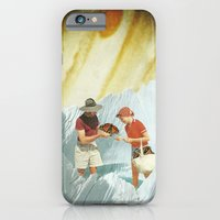 iPhone & iPod Case featuring collecting by Caroline A
