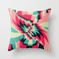 Swivel Vision (Available in the Society 6 Shop) Throw Pillow