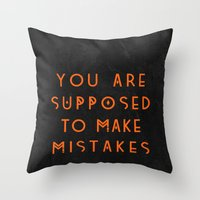 That's Life. Throw Pillow