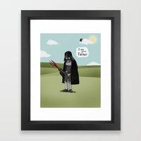 I Am Your Farmer Framed Art Print