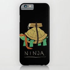 ninja - orange iPhone 6 Slim Case