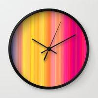 Society Sunset Wall Clock