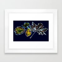 Autumn delight Framed Art Print