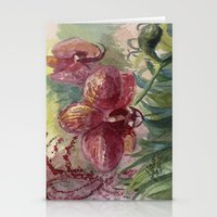 Orchid Passion Stationery Cards