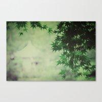 japanese serenity Canvas Print