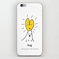 HUG by ISHISHA PROJECT iPhone & iPod Skin