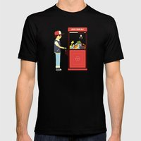 Claw Machine Mens Fitted Tee Black SMALL