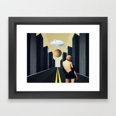 Wild in the Streets Framed Art Print