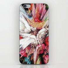 Floral Glitch II iPhone & iPod Skin