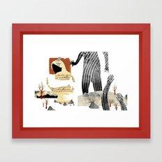 Gabriela Mistral 1 era prosa Framed Art Print