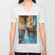 7 th Avenue  Unisex V-Neck