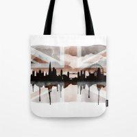 London Skyline 2 Tea Sta… Tote Bag