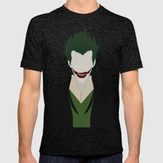 The Joker  Mens Fitted Tee Tri-Black SMALL
