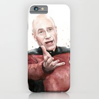 iPhone & iPod Case featuring Annoyed Picard Meme  by Olechka