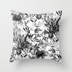 Changes BW Throw Pillow