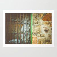 Station House, Grate Art Print