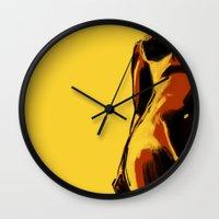 Swimmer #2 Wall Clock