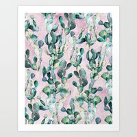 Prickly Pear Patch pt1. Art Print